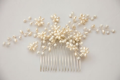 Tiaras & Jewellery   Canadian Jewellery Combs   Comb Es2055 Pertaining To Pearl Hair Comb Wedding