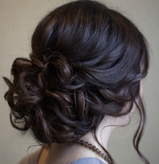 Top 20 Fabulous Updo Wedding Hairstyles | The Wedding Pros | The pertaining to Elegant Updo Wedding Hair sf8