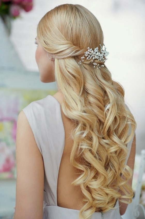 Wavy Wedding Hairstyles For Long Hair | Hairstyles | Hair-Photo pertaining to Long Hair Styles For Weddings