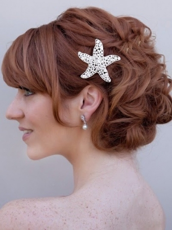 Weddig Hair: Wedding Updos For Short Hair In Wedding Updo For Short Hair