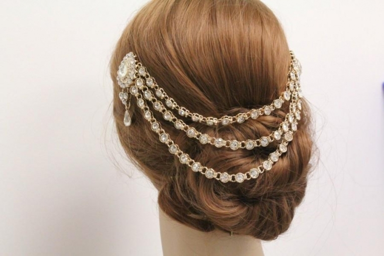 Wedding Hair Chain Gold Wedding Hair Vine Wedding Hair Band Wedding In Hair Jewelry Wedding
