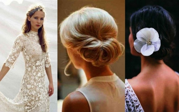 Wedding Hairstyles: Best Bridal Hairstyle Instructions Idea For A Within Lovely Wedding Hairstyle For Medium Hair Sf8