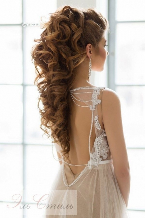 Wedding Hairstyles : Elstile Long Wedding Hairstyle Ideas 19 / Www Throughout Unique Long Hair Styles For Weddings Kc3
