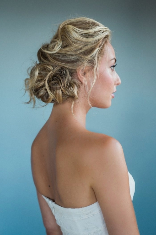 Wedding Hairstyles For Medium Length Hair - Modwedding in Best of Wedding Updos For Shoulder Length Hair sf8