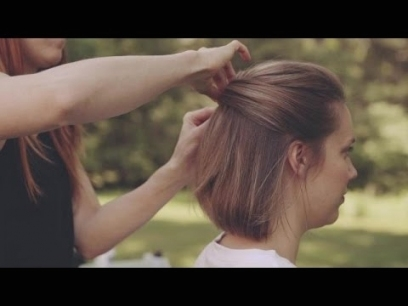 Wedding Hairstyles For Short Hair: How To Make An Updo   Youtube With Regard To Fresh Wedding Updo For Short Hair Dt3