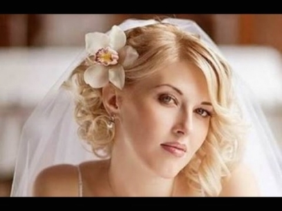 Wedding Hairstyles For Short Hair With Tiara And Veil   Youtube With Beautiful Wedding Hairstyles For Short Hair With Veil Df9