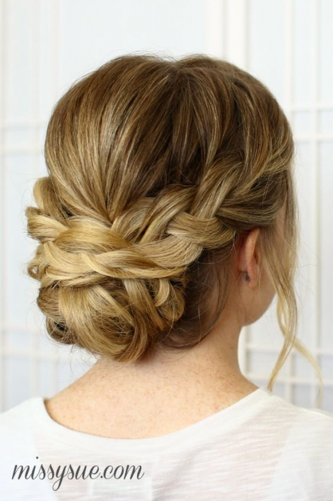 Wedding Hairstyles : Soft Braided Updo For Wedding Hair / Www For Inspirational Wedding Hair Up Do Sf8
