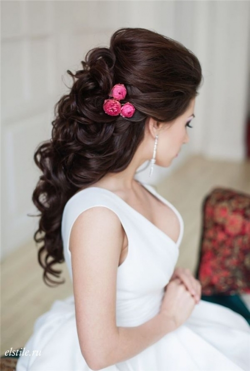 Wedding Hairstyles : Style Ideas: 20 Modern Bridal Hairstyles For regarding Best of Modern Wedding Hair sf8