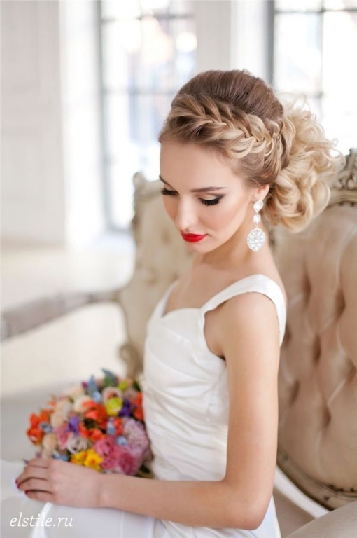Wedding Hairstyles : Style Ideas: 20 Modern Bridal Hairstyles For With Modern Wedding Hair