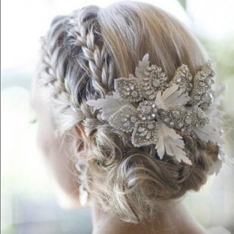 Wedding Hairstyles (Up Dos)   All Things Wedding With Inspirational Wedding Hair Up Do Sf8