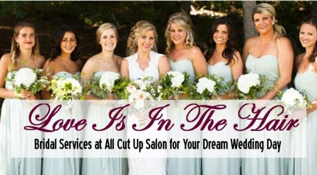 Wedding Packages | All Cut Up Salon For Luxury Hair Salon Wedding Packages Ty4
