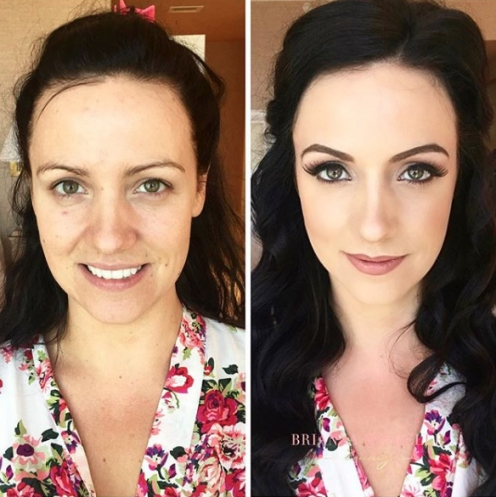Why Do Wedding Hair And Makeup Trials Cost?   Brianna Michelle Inside Beautiful Hair And Makeup For Wedding Cost Klp8
