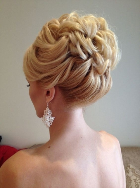 10 Beautiful Updo Hairstyles For Weddings 2019 With Luxury Wedding Updos For Medium Length Hair Kls7