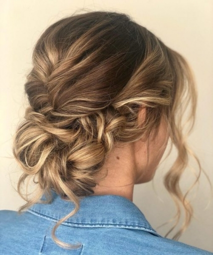 114 Top Shoulder Length Hair Ideas To Try (Updated For 2019) in Wedding Updos For Medium Length Hair