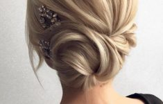 12 So Pretty Updo Wedding Hairstyles From Tonyapushkareva | Chic with Wedding Updos For Medium Length Hair