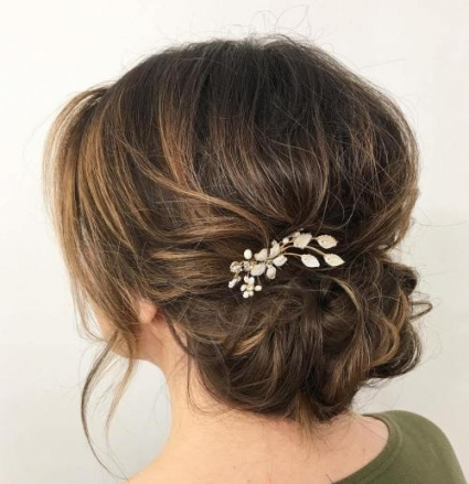 13 Bridal Hairstyles For All Hair Lengths In Vogue For Your D Day! Within Best Of Wedding Hairstyles For Medium Hair Ty4
