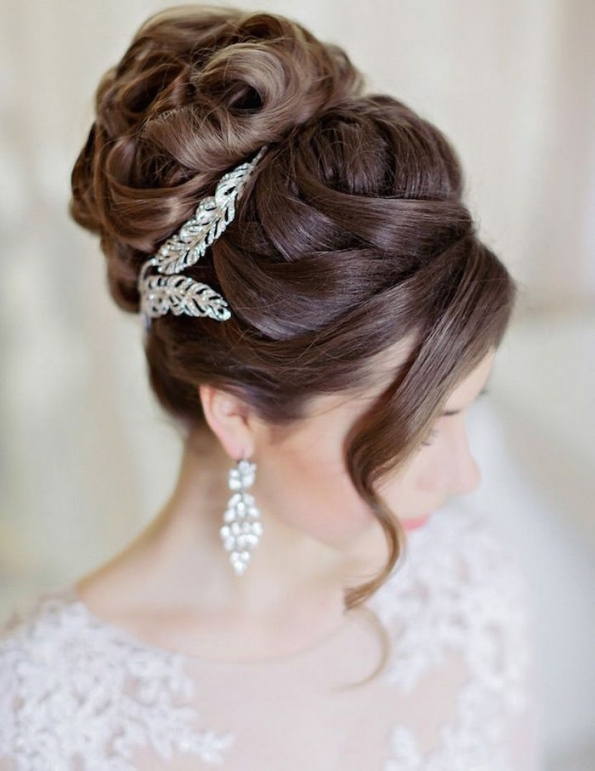15 Best Bridal Hairstyles For Every Length - Hairstyles - Crayon for Luxury Hair Styles Wedding df9