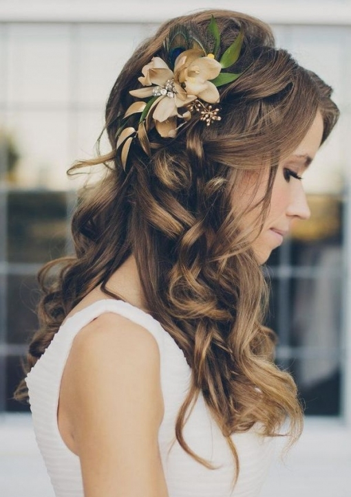 20 Creative And Beautiful Wedding Hairstyles For Long Hair Inside Hair Styles Wedding
