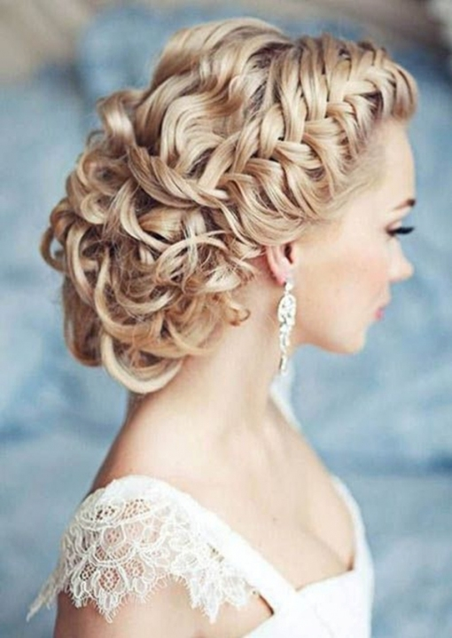 20 Creative And Beautiful Wedding Hairstyles For Long Hair with Hair Styles Wedding