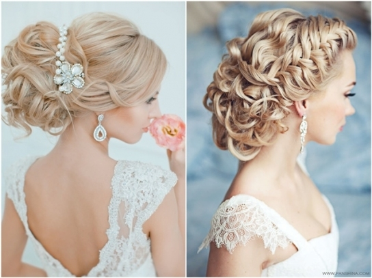 20 Most Beautiful Updo Wedding Hairstyles To Inspire You | Deer With Regard To Braid Wedding Hair