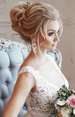 20 Most Romantic Bridal Updos Wedding Hairstyles To Inspire Your Big with regard to New Big Wedding Hair sf8