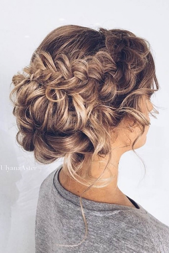 20 Stunning Braided Wedding Hairstyle Ideas | Roses & Rings Intended For Hair Ideas For A Wedding
