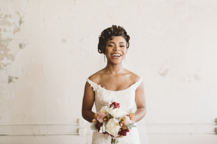 20 Wedding Hairstyles For Short Hair: Updos, Half Up & More Intended For Inspirational Short Hair Updo For Wedding Sf8