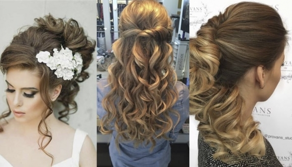 21 Magnificent Bridesmaid Hairstyles For Long & Medium Hair Regarding Wedding Hairstyles For Medium Hair