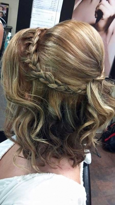 25 Best Wedding Hairstyles For Short Hair Braid Inside Inspirational Short Hair Updo For Wedding Sf8