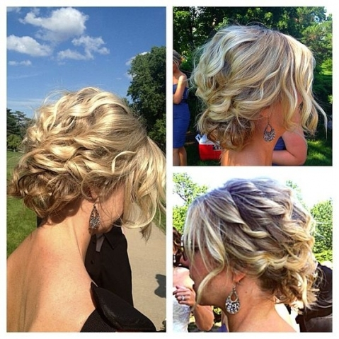 25 Cute Easy Updos For Short Hair 2018 – 2019 | On Haircuts Regarding Short Hair Updo For Wedding