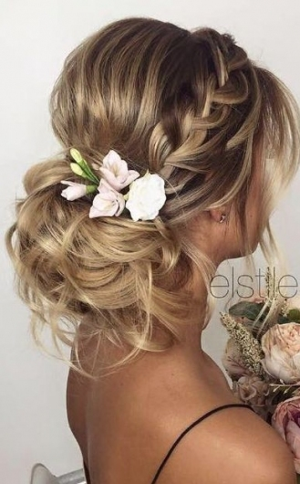 30 Beautiful Wedding Hairstyles – Romantic Bridal Hairstyle Ideas With Hair Ideas For A Wedding