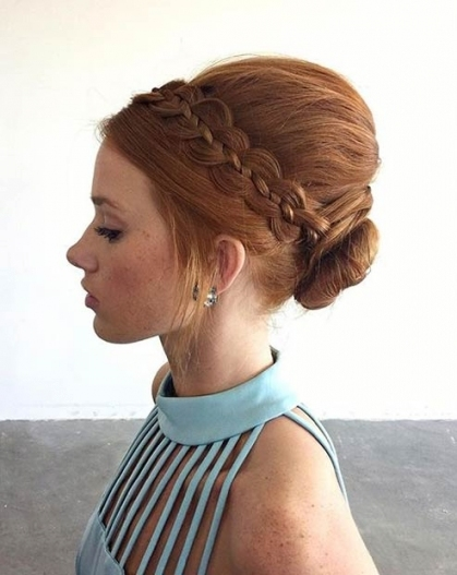 31 Wedding Hairstyles For Short To Mid Length Hair   Stayglam Throughout Short Hair Updo For Wedding