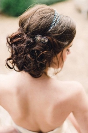35 Wedding Hairstyles: Discover Next Year's Top Trends For Brides Intended For Luxury Hair Styles Wedding Df9