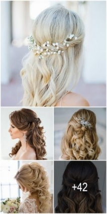 Awesome Wedding Hairstyles For Long Hair Half Up Half Down fg8