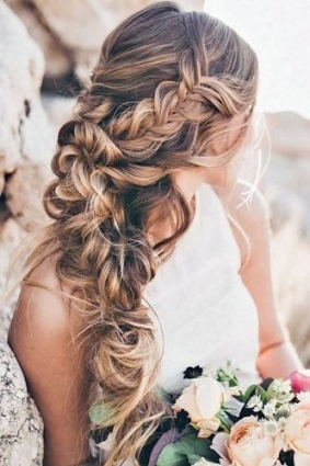 5 Easy Wedding Guest Hairstyles Easy Video Tutorials | Loverly Pertaining To Luxury Hair Styles Wedding Df9