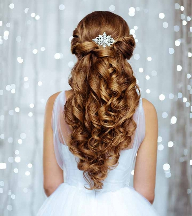 50 Bridal Hairstyle Ideas For Your Reception Regarding New Hair Ideas For A Wedding Kls7