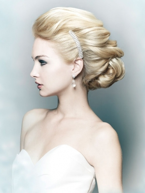 60 Unforgettable Wedding Hairstyles Intended For Big Wedding Hair