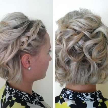 60 Updos For Short Hair – Your Creative Short Hair Inspiration Pertaining To Short Hair Updo For Wedding