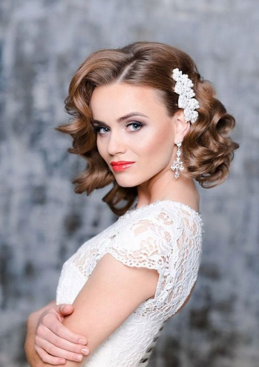Beautiful Wedding Hairdos For Shoulder Length Hair ty4