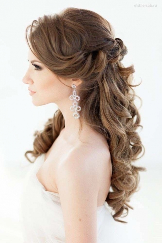 72 Best Wedding Hairstyles For Long Hair 2019 | 21St Birthday With Regard To Hair Styles Wedding