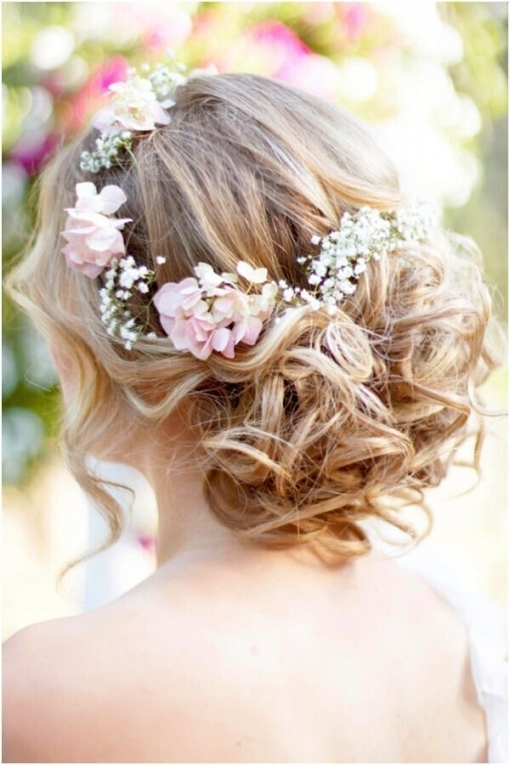 8 Wedding Hairstyle Ideas For Medium Hair   Popular Haircuts With Regard To Wedding Hairstyles For Medium Hair