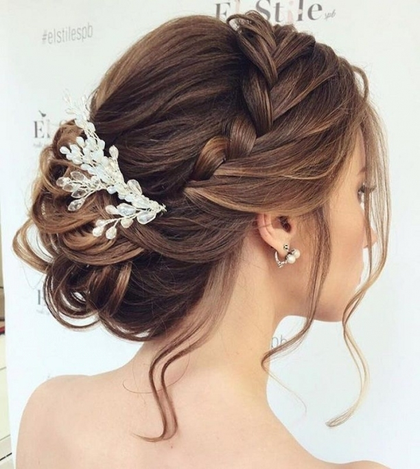 Beautiful Braided Updos Wedding Hairstyle To Inspire You   Wedding Within Awesome Braid Wedding Hair Klp8