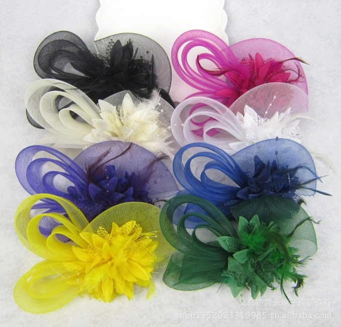 Bridal Wedding Hair Accessories Green Red Blue Yellow Purple Biege With Unique Purple Wedding Hair Accessories Dt3