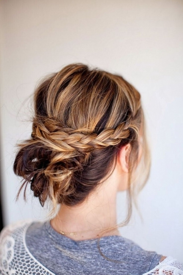 Casual Updo Hairstyles For Medium Hair 15 Fresh Updo39S For Medium Throughout Luxury Wedding Updos For Medium Length Hair Kls7