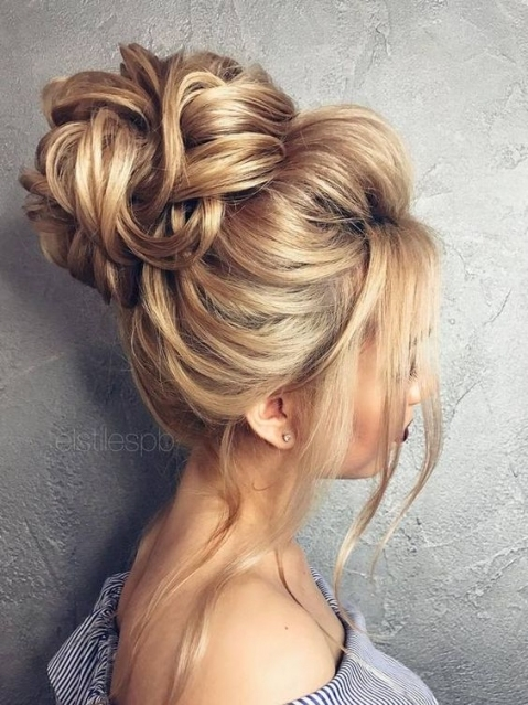 Come And See Why You Can't Miss These 30 Wedding Updos For Long Hair Pertaining To Luxury Hair Styles Wedding Df9