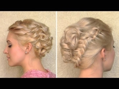 Inspirational Short Hair Updo For Wedding sf8