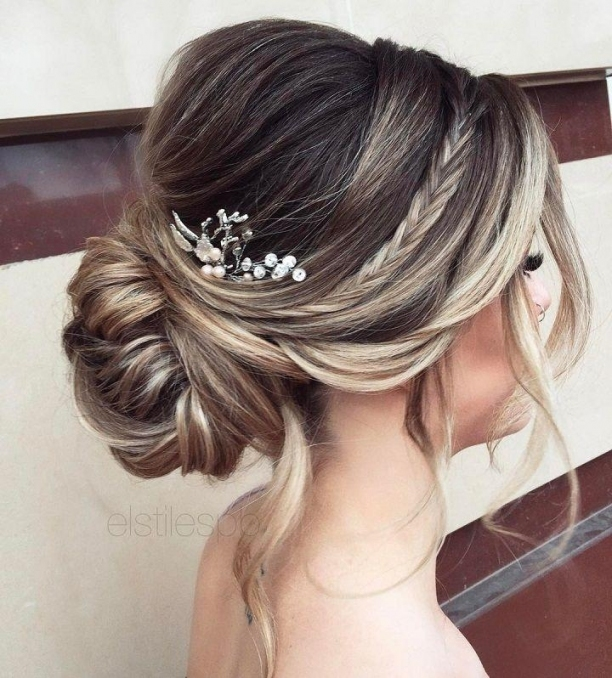 Elegant Simplicity Updo Wedding Hairstyle To Inspire Your Big Day Pertaining To Big Wedding Hair
