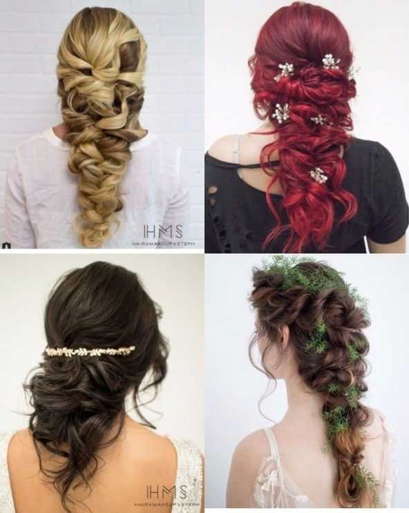 Fall Wedding Hair Ideas | Popsugar Beauty Pertaining To Hair Ideas For A Wedding