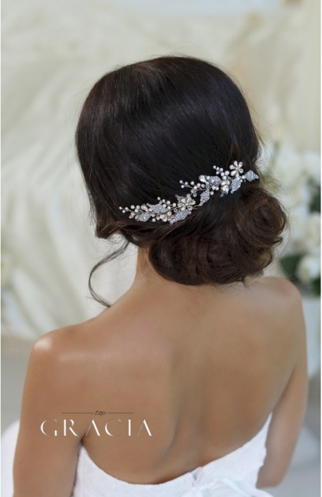 Glykeria Crystal Flower Hair Pins Wedding Hairpins Bobby Pins With New Hair Pins For Wedding Ty4