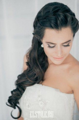 Hochzeit Frisuren   Big Loose Cascading Braid   Lovely #2028773 Pertaining To New Big Wedding Hair Sf8